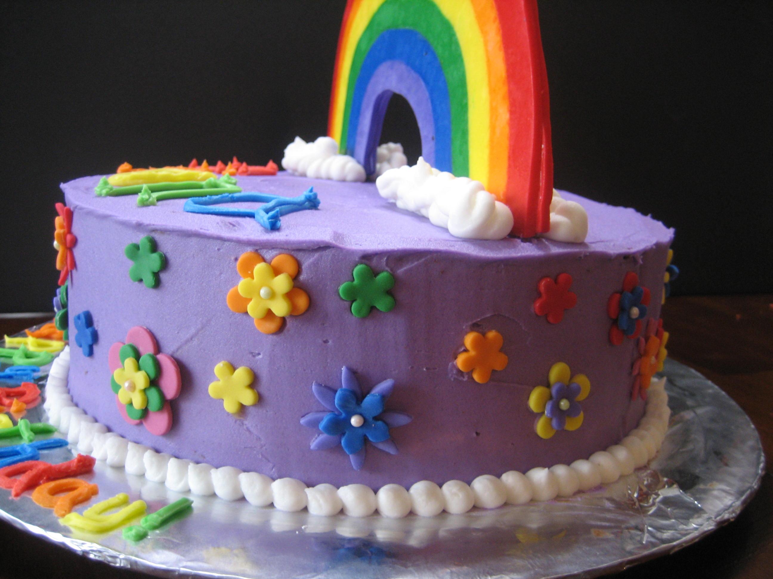 rainbow cake free - photo #27